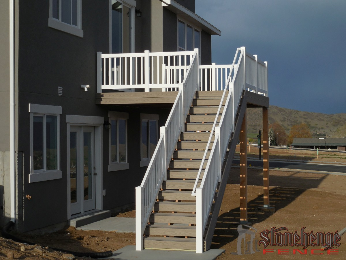 Trex decking in utah for Best composite decking material reviews
