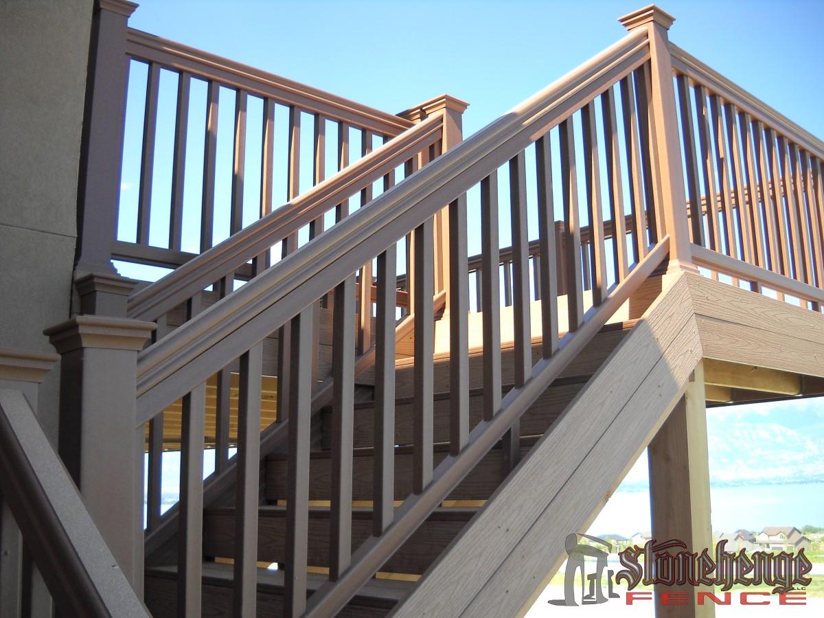 Building Deck Stairs : Decking stairs the best fences decks in utah