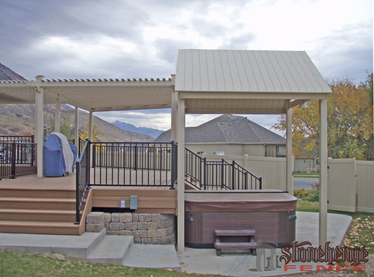 Custom garden structures for Outdoor structures