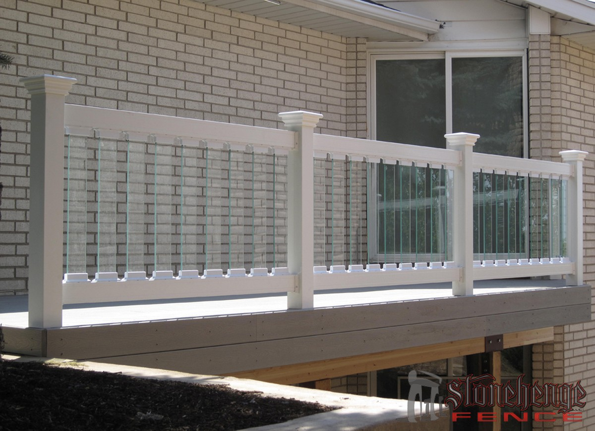 Custom Glass Railing The Best Fences Amp Decks In Utah