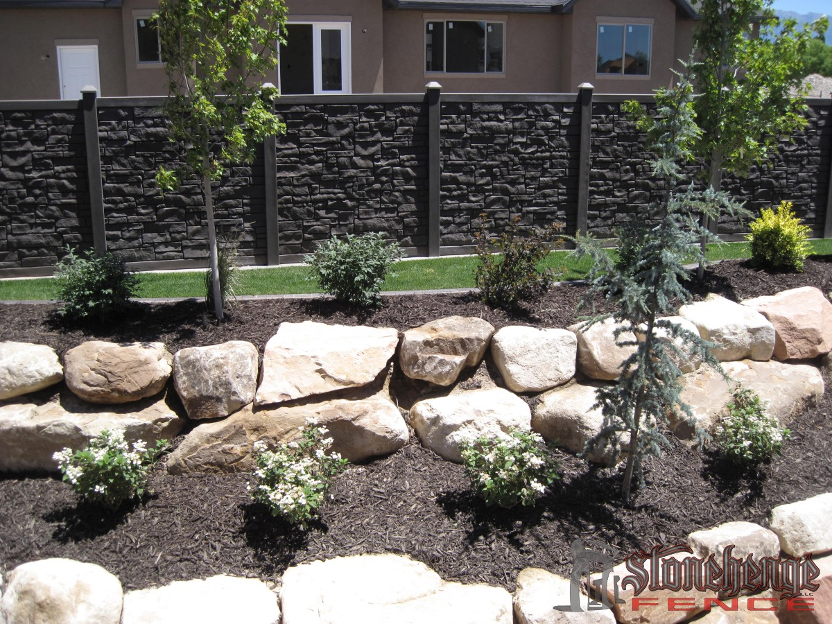 Simtek Stone Fences The Best Fences Amp Decks In Utah
