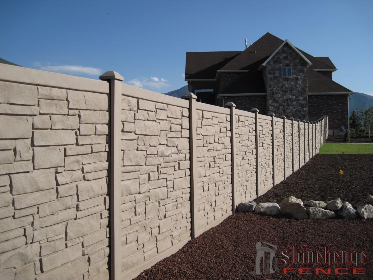 Simtek Stone Fences The Best Fences Amp Decks In Utah