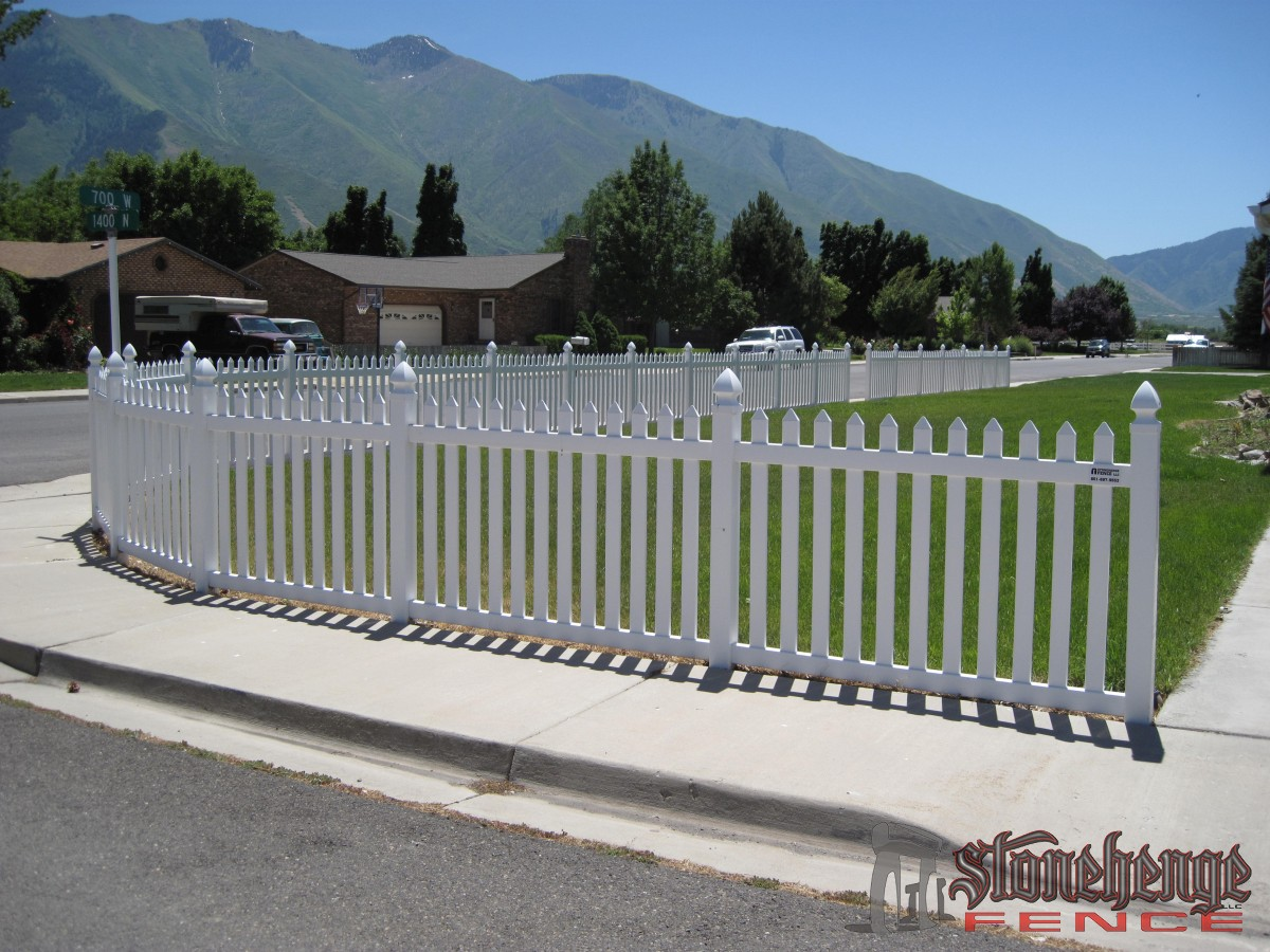 vinyl fencing.  Fencing Vinylfencing001 Throughout Vinyl Fencing