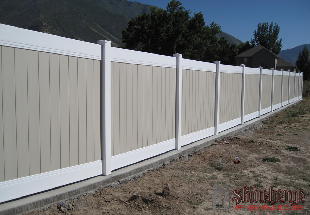 Vinyl Fencing Utah Stonehenge Fence Amp Deck Vinyl Fencing