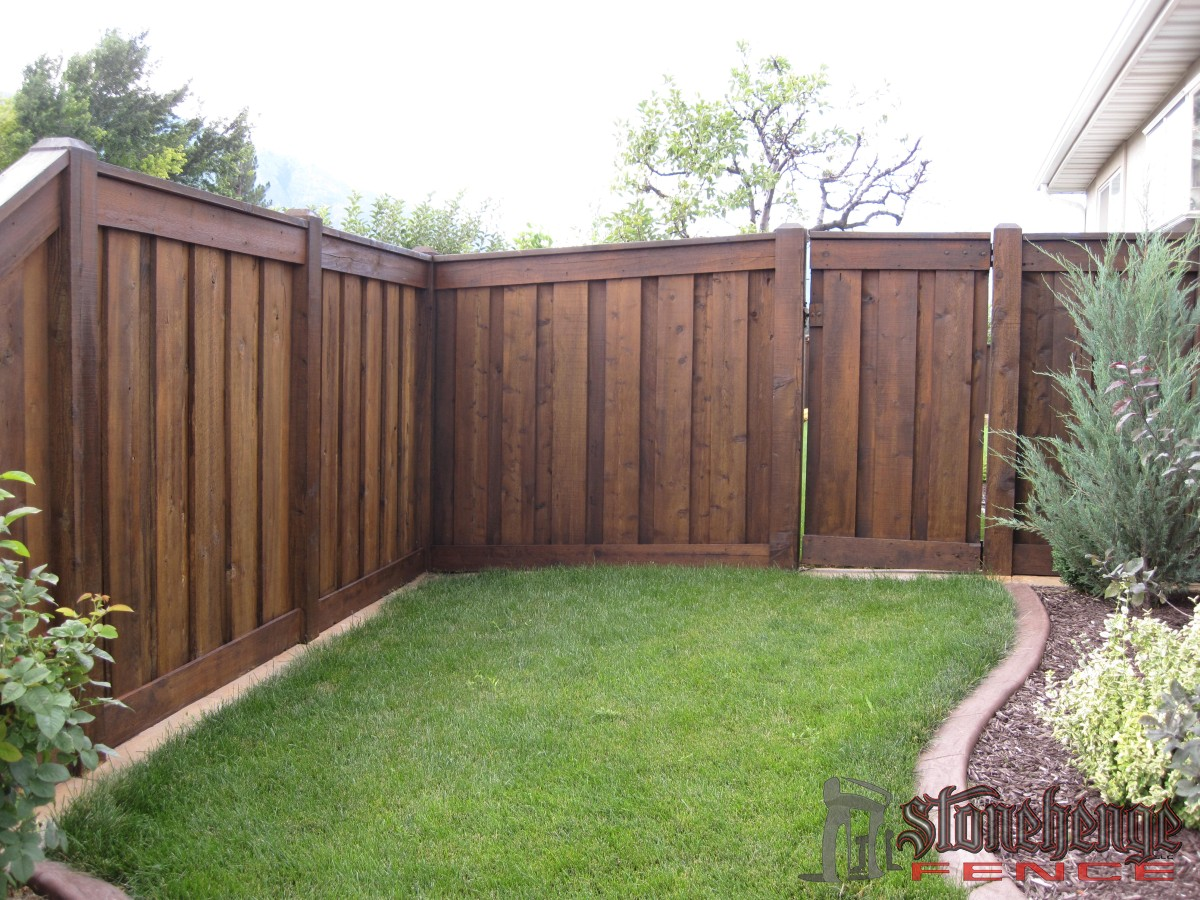 Wooden Fencing Amp Cedar The Best Fences Amp Decks In Utah
