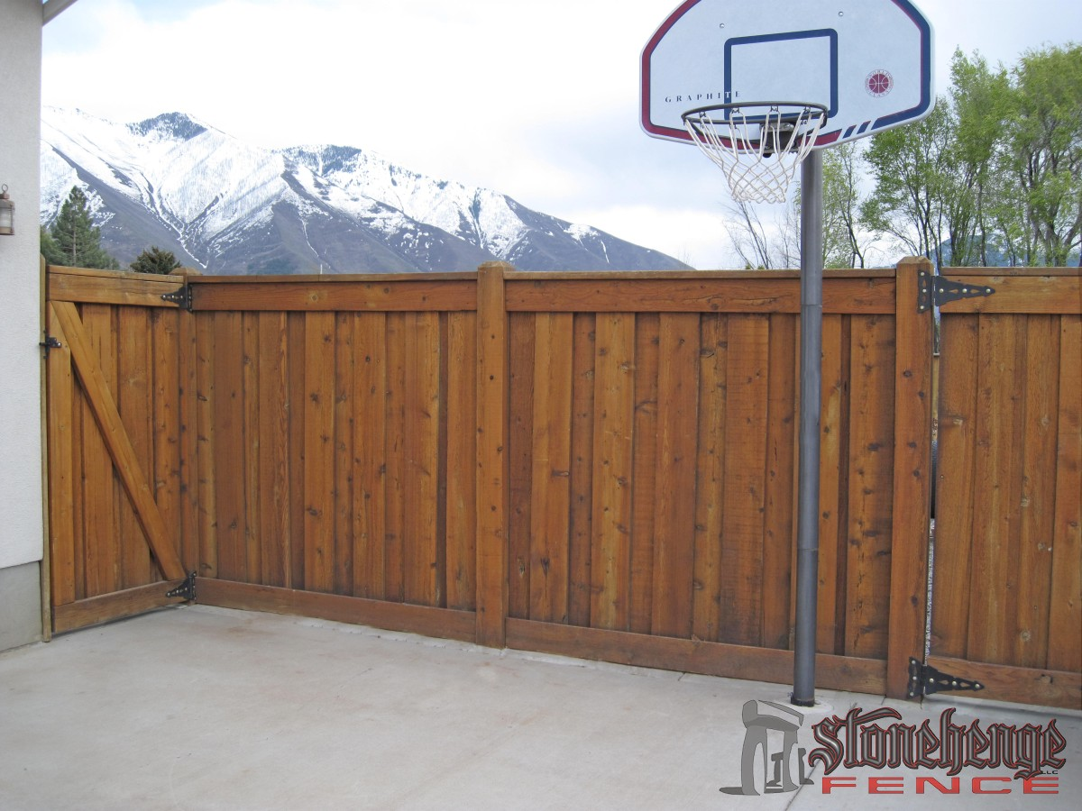 Wooden Fencing Amp Cedar The Best Fences Amp Decks In Utah