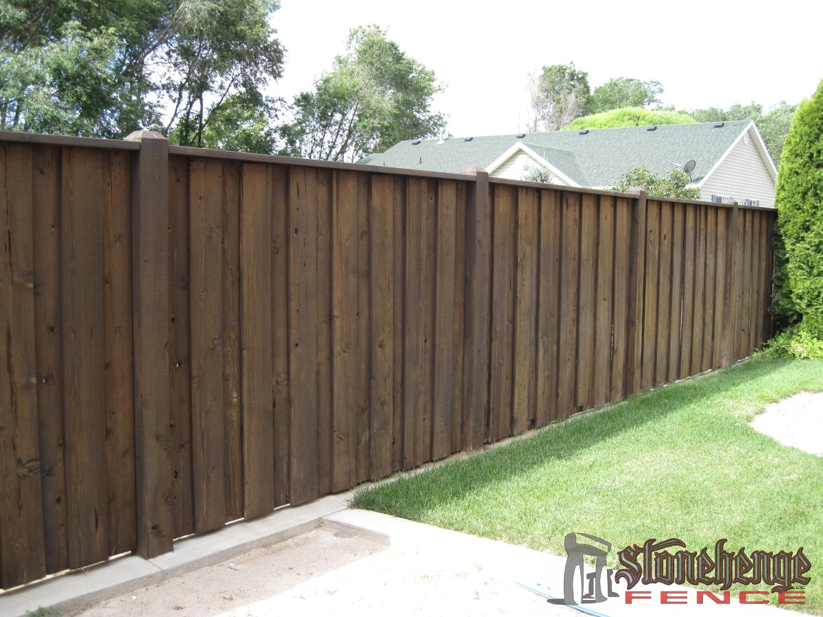 Wooden Fencing Amp Cedar Stonehenge Fence Amp Deck