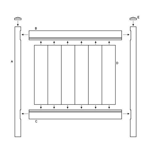 Utah S Best Vinyl Fencing Trex Decking Amp Wholesale Fence